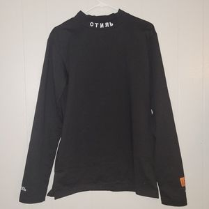 Heron Preston Turtleneck Size Small